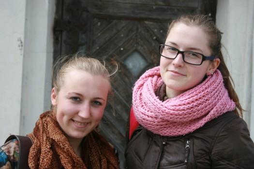 Živilė Pažusytė ir Eglė Krivičiūtė