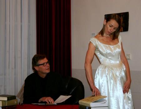 Aktorius Saulius Balandis ir Viktorija Kuodytė