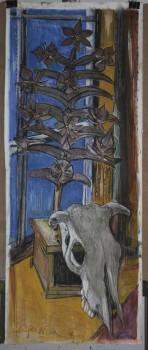 III Karvės kaukolė ir žemaitiška palmė. 2008