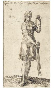 Melchior_Lorck_Senegalese_woman_1583