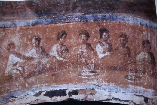 paskutine-vakariene-priscilos-katakombos-roma