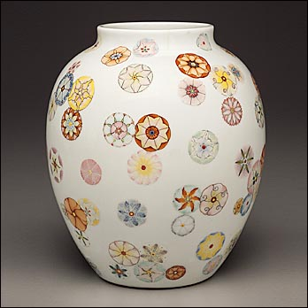 flowered_vase_lrg Chinese Qing dynasty
