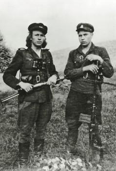 kraujelis ir Bronius Rakevičius-Tauras, 1950