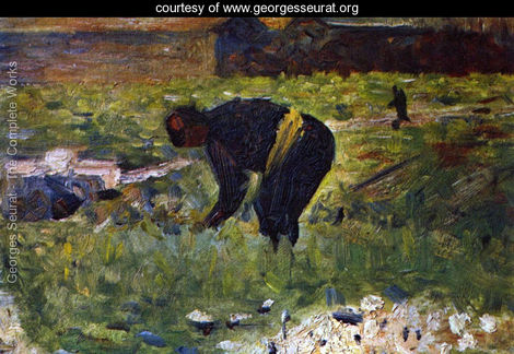 seurat-peasant-at-work