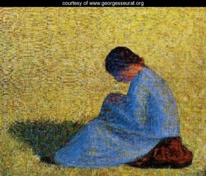 seurat-seated-woman
